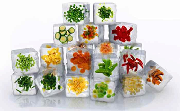 Способы заморозки овощей в домашних условиях